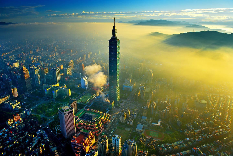 台北101大楼 图片来自台北101官方网站
