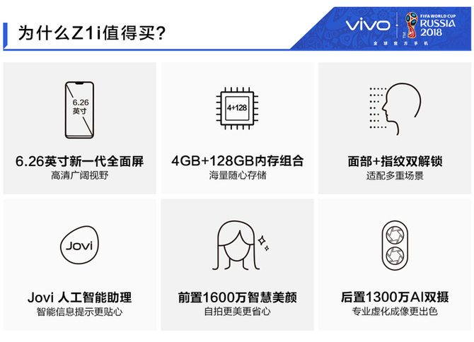 vivo Z1i悄然上线 7月7日开售1898元起
