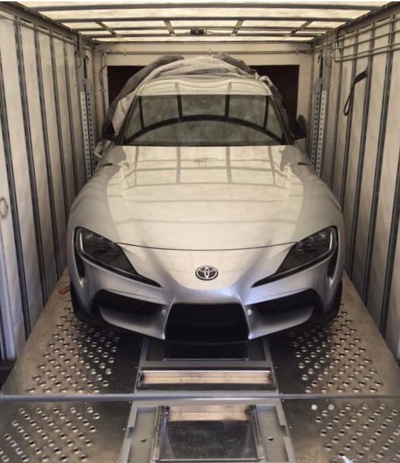 丰田新Supra超跑前端设计在网上曝光 设计类似FT-1概念车