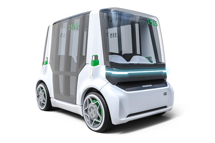 2019 CES:舍弗勒展示未来城市车辆概念Schaeffler Mover