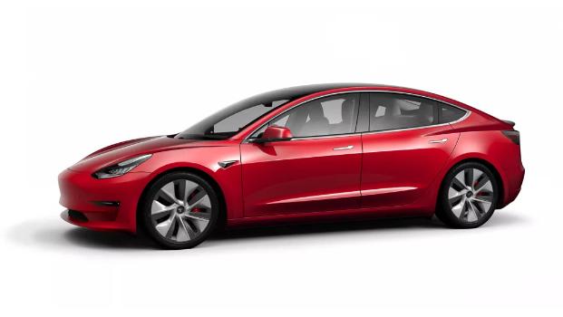 特斯拉官宣:Model 3两款车型中国大陆开放选配