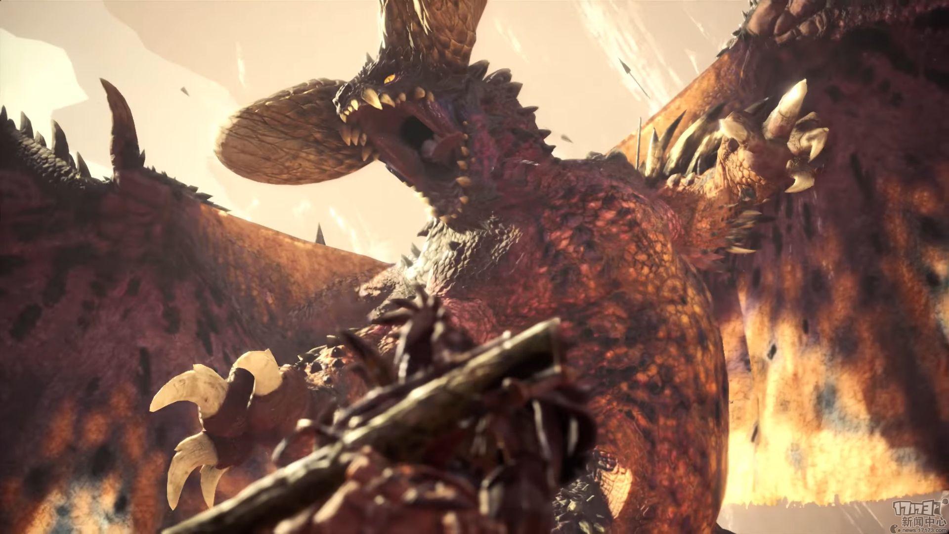 《怪物猎人:世界》VS《巫师3》联动活动即将开启 杰洛特恶战凶猛怪兽