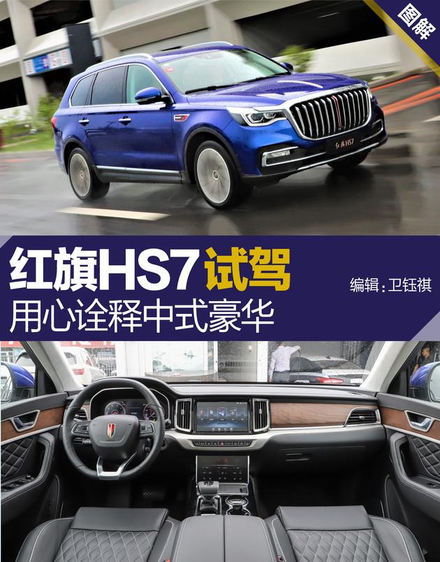 自主品牌SUV大哥 用心诠释中式豪华 红旗HS7试驾
