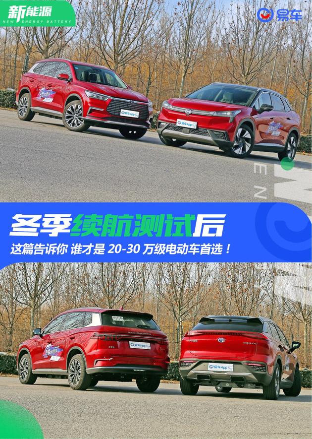 宋Pro EV和Aion LX 誰才是20-30萬級電動車首選!