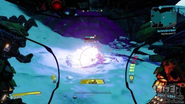 《無主之地3》第二部戰役DLC實機演示 瘋狂蘿莉機械師回歸