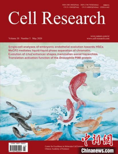 中国自主创办学术期刊《细胞研究》影响因子首破20
