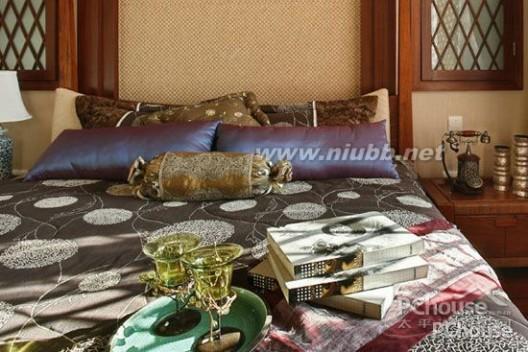 东南亚风格卧室 东南亚风格卧室特点之设计亮点