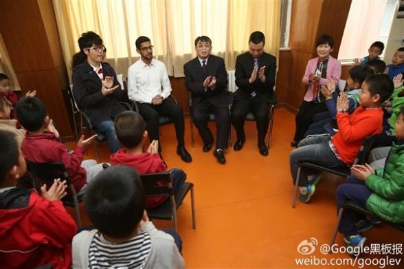 """人机中国PK赛有戏?谷歌CEO""""劈柴哥""""来华了"""