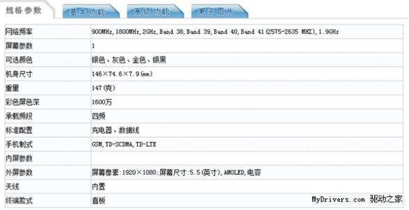 疑似魅族MX5现身工信部:竟支持4倍光学变焦!