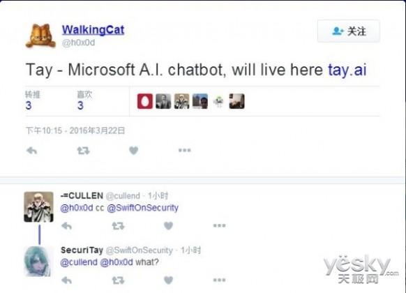 Build2015新亮点 微软或推AI聊天机器人Tay