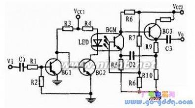 光耦电路 光耦的特点及应用电路图