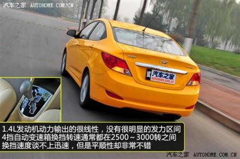 现代 北京现代 瑞纳 2010款 1.4 GLS AT豪华型