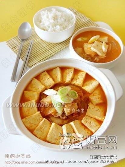 韩国泡菜锅 韩国泡菜锅的做法,韩国泡菜锅怎么做好吃,韩国泡菜锅的家常做法