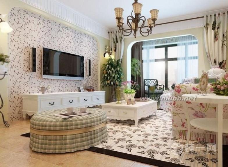 客厅电视背景墙效果图 2016年最流行的客厅电视背景墙装修效果图