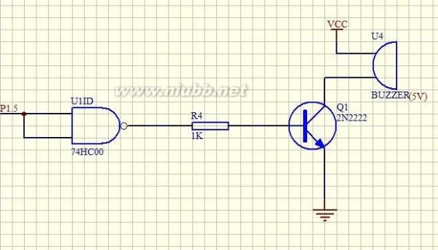 图2-1 多路防盗报警器原理框图 2.2单电路简介 如图2-3所示,本电路报警器为两路防盗报警器,每一路有相同的电路结构,控制电路也相同,均由可控硅控制。由总体电路图可看出,此两路防盗报警器电路总共有两个基本组成单元。分别是:控制电路、报警声产生电路。 2.2.1控制电路 控制电路由三极管3DG12、电阻R1,R2,R3和可控硅SCR1共同组成,如图2-2-1所示。电源电压12V通过R2给三极管3DG12提供基极直流偏置,初始状态下,开关S1断开。三极管基极无电流,三极管发射极没有偏置电压,使三极管处于截