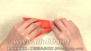 怎么折纸鹤 【越狱中】纸鹤的折法