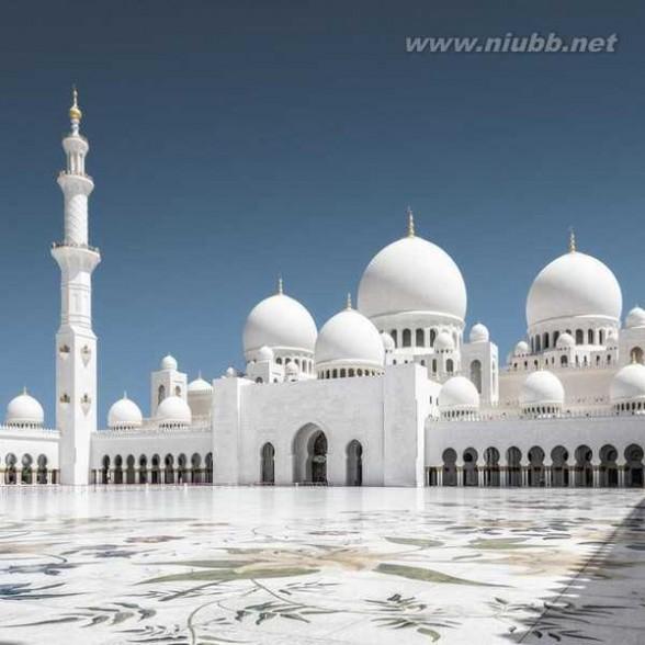 谢赫扎伊德清真寺 40吨黄金建造的谢赫扎伊德清真寺