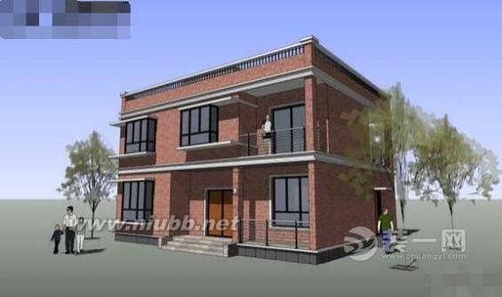 农村两层房屋设计图 120平方两层漂亮农村小洋楼设计图