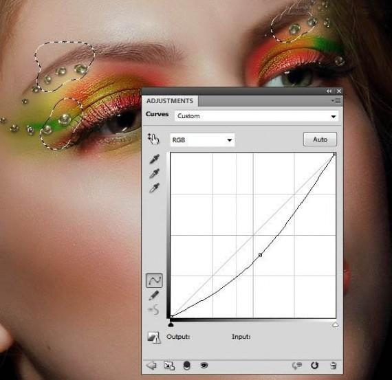 Photoshop给模特人像添加唯美彩妆效果