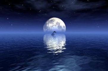 中秋意境-海上生明月,天涯共此时