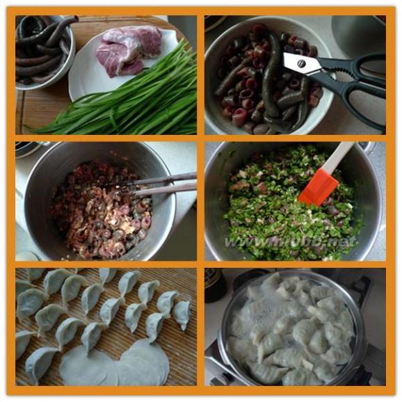 舌尖上的美味--海肠子饺子
