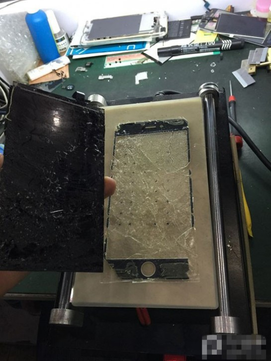 iPhone6 Plus屏幕碎了不用怕 手把手教你维修