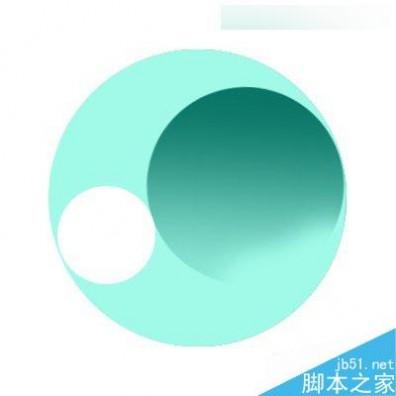 Photoshop制作三维立体风格的绿色圆形旋涡图形图标