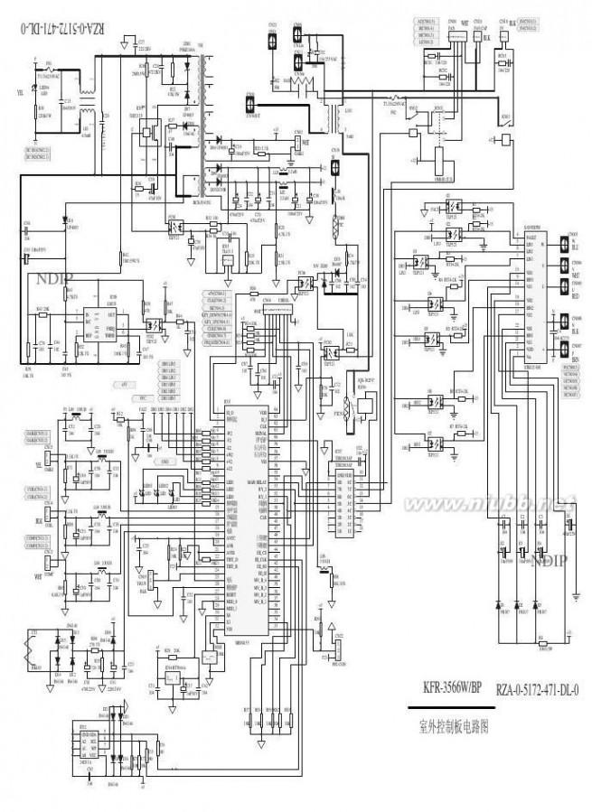 海信变频空调 海信变频空调电路图