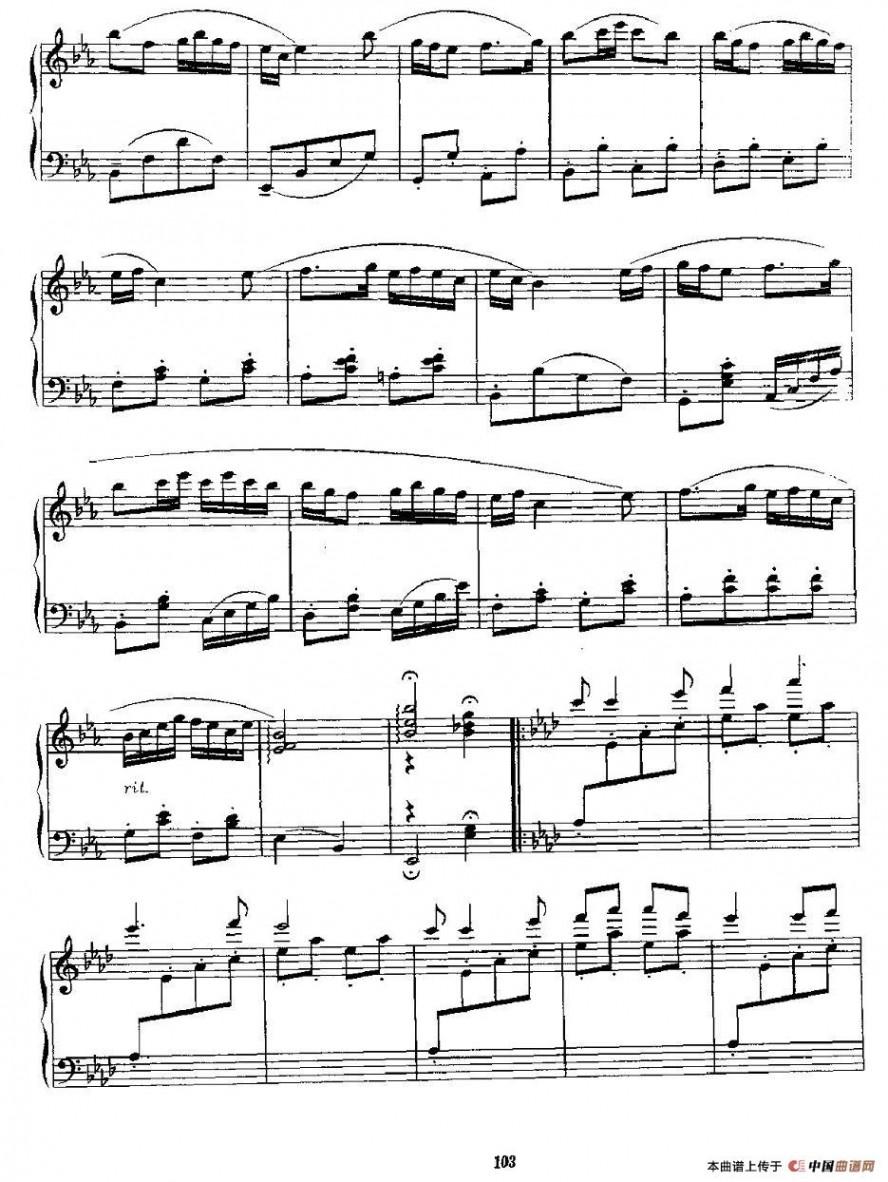 口琴谱子canon-茉莉花口琴谱 茉莉花钢琴谱