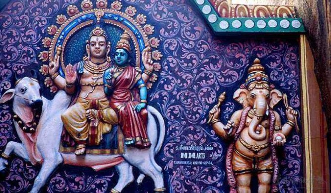 印度 神女 印度教的三大女神是谁