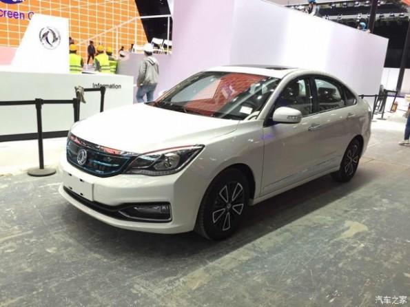 东风风神a60-2016北京车展探馆:东风风神新款A60 EV