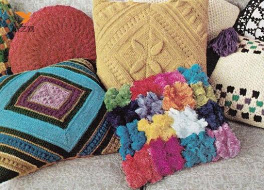 手工钩针编织三种典雅圆形桌布的图样教程