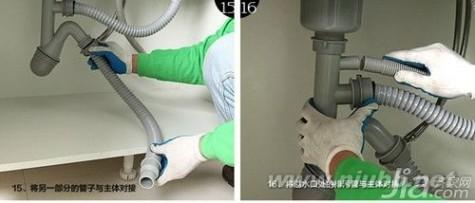 水槽安装 厨房水槽安装费是多少 厨房水槽安装步骤