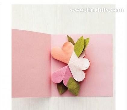 母亲节贺卡 手工 母亲节立体花瓣贺卡手工制作教程