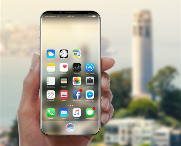 iPhone 8渲染图