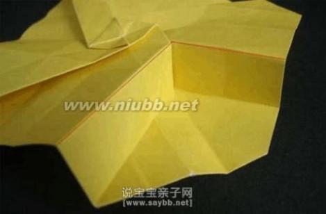 玫瑰花折纸图解 美丽的川崎玫瑰折纸教程详细图解-玫瑰花折纸教程图图片