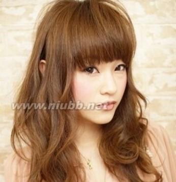 宽脸适合的发型图片 帮你遮掉大脸宽脸 大宽脸适合什么发型