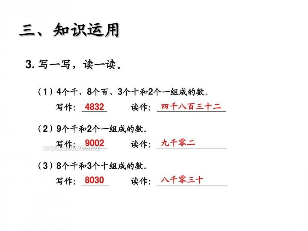 小学二年级数学课件 2014年新人教版二年级数学下册第七单元所有课件