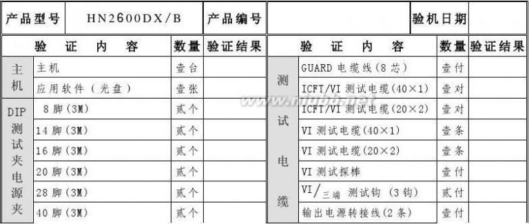 n2600 汇能HN2600DXB电路维修测试仪技术协议