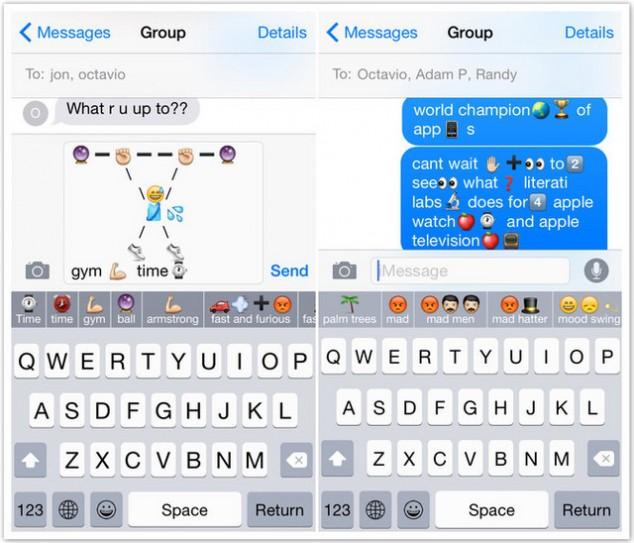 可以一玩 文字转表情iOS8萌系键盘应用