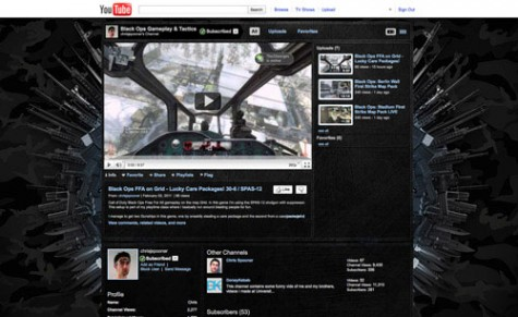 How To Design a Custom YouTube Background