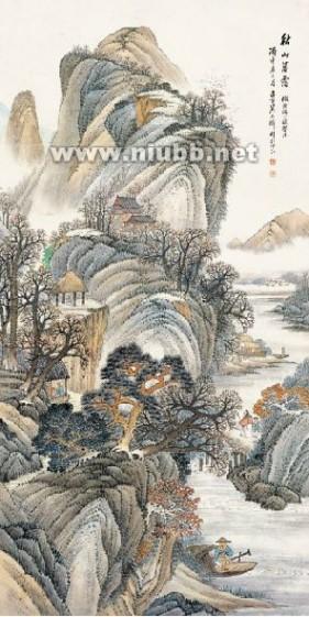 吴石仙国画作品欣赏