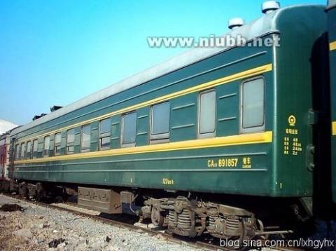 """旅客列车车体的发展史(一)之21型、22型、23型、31型,俗称""""绿皮车"""""""