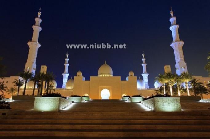 世界上最奢华的清真寺-谢赫扎伊德清真寺