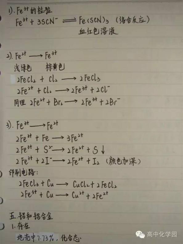 金属世界 【笔记】精美状元化学笔记8——走进精彩纷呈的金属世界