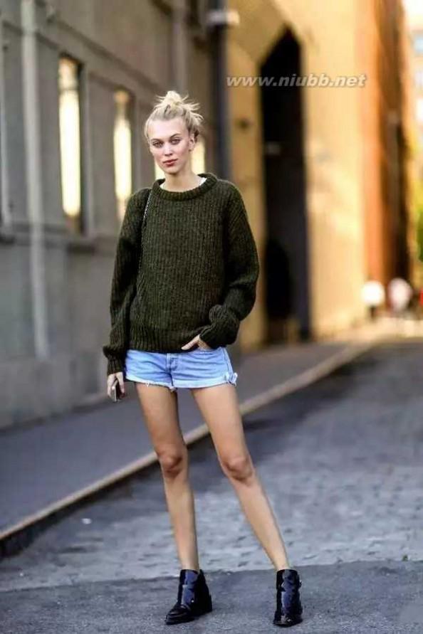短裤的搭配 春天短裤应该这样穿!可千万别穿错~