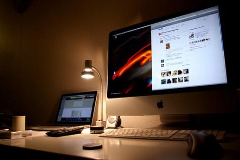 iMac and MacBook