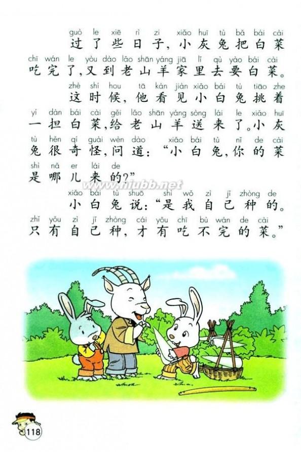小学一年级语文下册 人教版一年级语文下册教材电子版