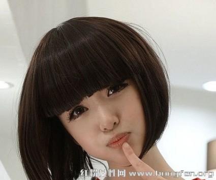 波波头适合什么脸型 波波头短发发型图片 学生波波头适合哪些脸型