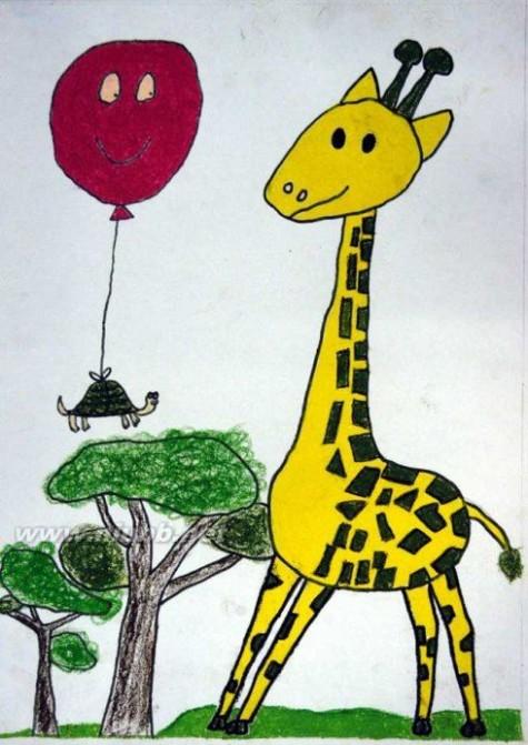 儿童画获奖作品欣赏1(1---8)